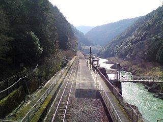 トロッコ保津峡駅