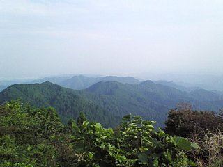 関八州見晴台からの眺望