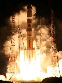 打ち上げられるH2Bロケット(無断転載スマソ)